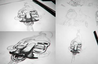 Random Inktober Sketch by Solleck