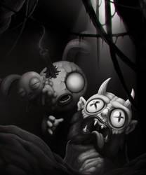 Head of Krampus by Solleck