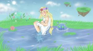 Sorrow of the Light Goddess by PinkDerpyUnicornz