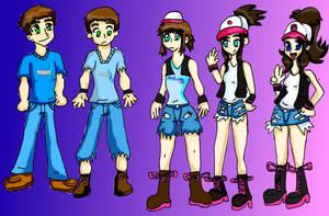Pokemon Go! Hilda TG by riderdahedgehog91