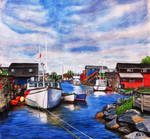 Fisherman's Cove by knezak