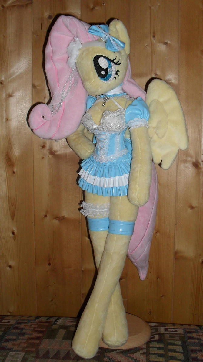 fluttershy anthro plushie folded wings by FluttershyAP