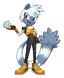 Tangle the lemur by LadyYumiko