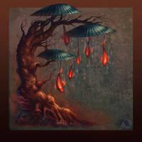 Umbrellapond by Sirenophilia