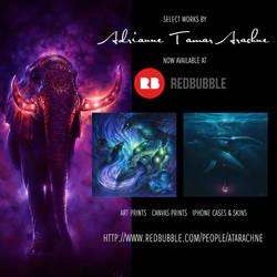PRINTS NOW AVAILABLE THROUGH REDBUBBLE! by Sirenophilia