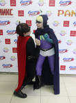 Mysterion vs the Coon by signore-illusionista