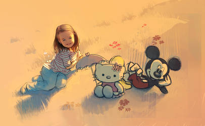 Hello Kitty ! by Mathurin156