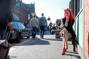with Marta in Hamburg 20 by PhotographyThomasKru