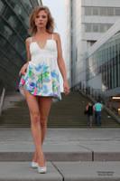 Anna in a summer dress 8 by PhotographyThomasKru