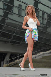 Anna in a summer dress 15 by PhotographyThomasKru