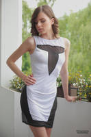 Muriel in a white dress 4 by PhotographyThomasKru