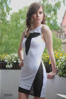 Muriel in a white dress 13 by PhotographyThomasKru