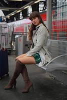 Emelie at the station 4 by PhotographyThomasKru