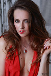 Jana in red dress 39 by PhotographyThomasKru