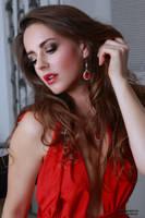Jana in red dress 40 by PhotographyThomasKru