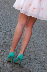 Vanessa S. in summer dress 4 by PhotographyThomasKru