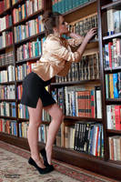 Jana the librarian 3 by PhotographyThomasKru