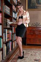 Jana the librarian 4 by PhotographyThomasKru