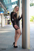 Vanessa in black dress 3 by PhotographyThomasKru