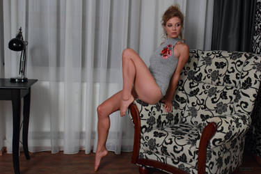 Gymnastic exercise with Anna 3 by PhotographyThomasKru