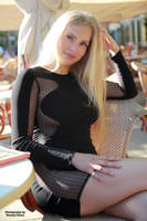 Vanessa in black dress 8 by PhotographyThomasKru