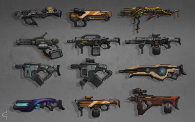 Gun Concepts 2 by Earl-Graey