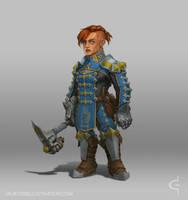 Brynja Battlehammer by Earl-Graey