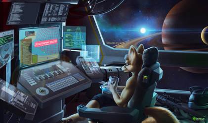 Space [COM] by Cereus93