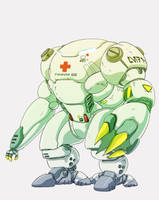 Medic Mecha for Search and Rescue team by sharknob