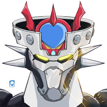 Hello Mazinger by sharknob