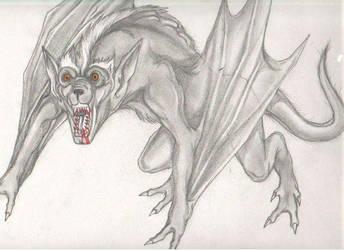Vampire Hound by enochian69