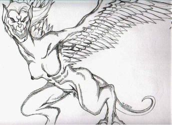 The Harpy by enochian69