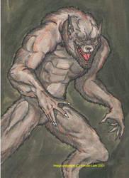 The Classic Werewolf by enochian69