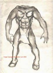 Monstrous Race - The Blemmyae by enochian69