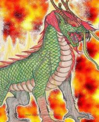 QiLin - The Oriental Unicorn by enochian69