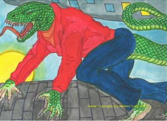 The Lizardman by enochian69