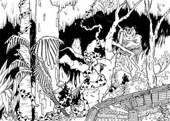 Guardians of Emei Shan by unshakentomato