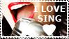 STAMP: I love sing by christophernicol