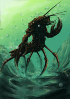 lobster man by devilman27