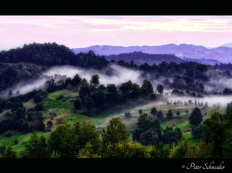 Morning mist. by Phototubby