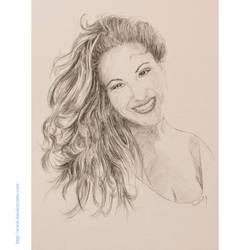 Selena Quintanilla by davidhardesty