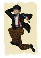 When I Say Run, RUN: Second Doctor by DeathByBacon