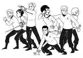 To Boldly Go by DeathByBacon