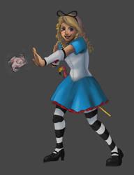 Superhero Alice by DeathByBacon