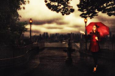 Feel da Rain by ahcsourav