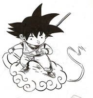 SON GOKU by MIRRORMASTER