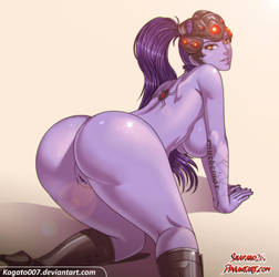 COLLAB//FantASStic Widowmaker by Shadako26