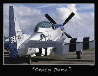 'Crazy Horse' by OpticaLLightspeed