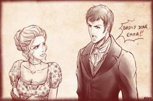 Emma and Mr Knightley by NEKO-2006
