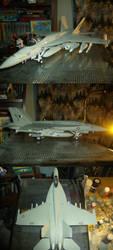F-A-18E Super Hornet by Jandreau
